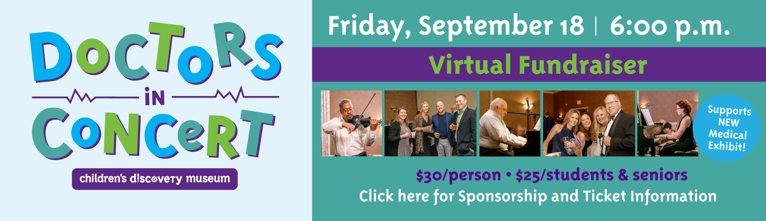 Doctors In Concert Virtual Fundraiser