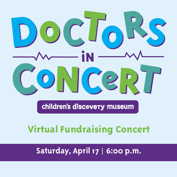 Doctors In Concert Virtual Fundraising Concert Saturday, April 17 6 p.m.