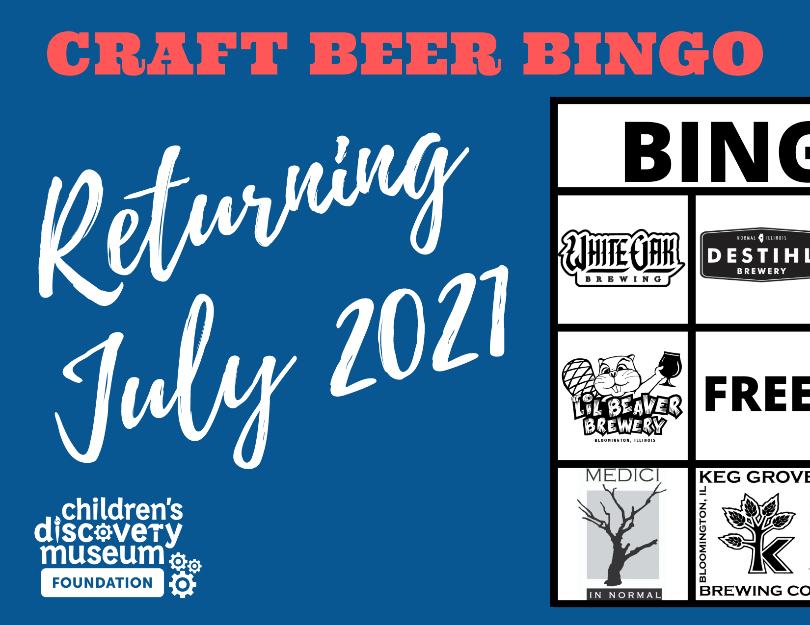 Craft Beer BINGO Returning July 2021