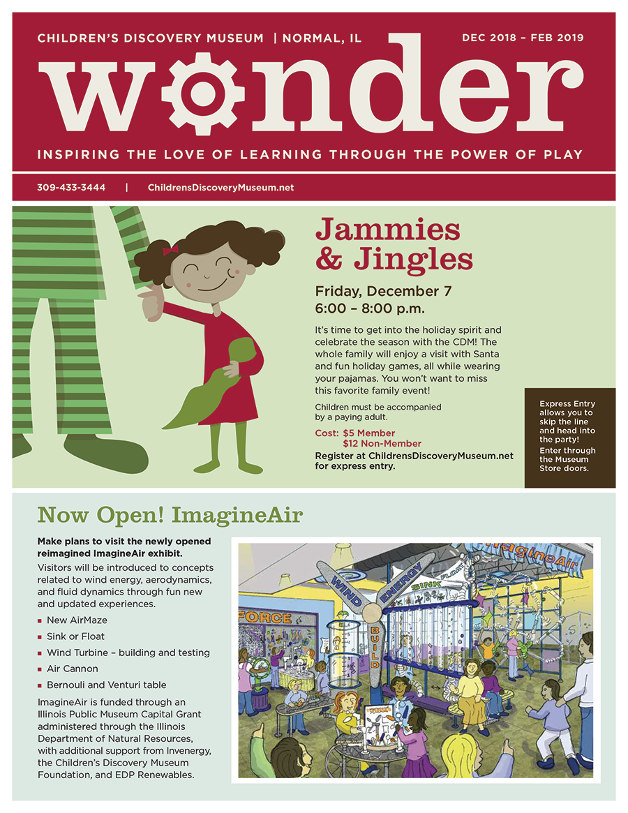 An image of the cover of the latest newsletter